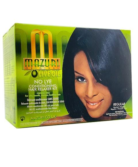 MAZURI OLIVE OIL NO LYE CONDITIONING RELAXER - merry poppins beauty