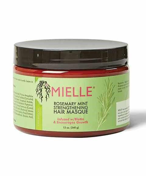MIELLE ROSEMARY MINT STRENGTHENNING HAIR MASQUE 12OZ - merry poppins beauty
