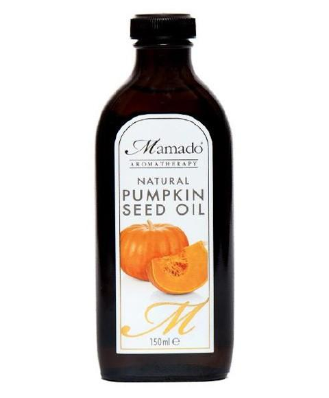 MAMADO AROMATHERAPY NATURAL PUMPKIN SEED OIL 150ML - merry poppins beauty