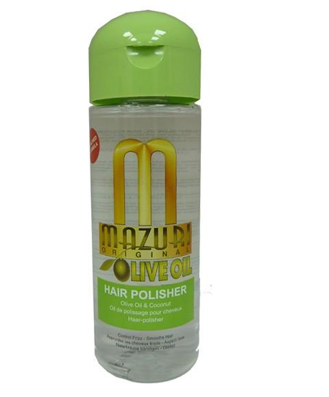 MAZURI OLIVE OIL HAIR POLISHER 177ML - merry poppins beauty
