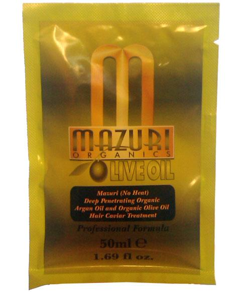 MAZURI OLIVE OIL AND ARGAN OIL DEEP PENETRATING HAIR CAVIAR TREATMENT 50ML - merry poppins beauty
