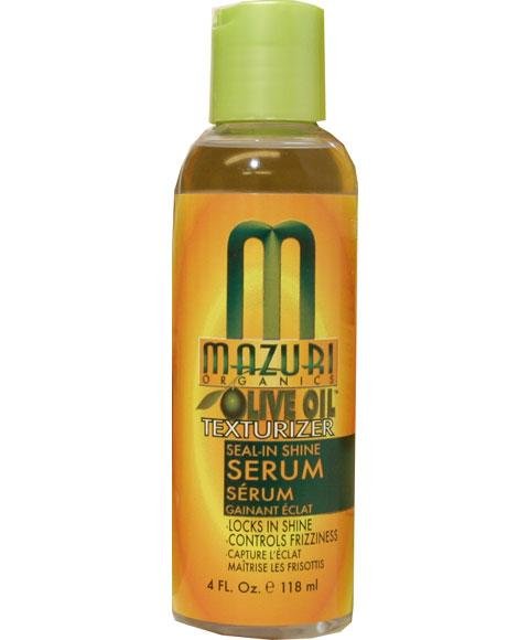 MAZURI OLIVE OIL TEXTURIZER SEAL IN SHINE SERUM 118ML - merry poppins beauty
