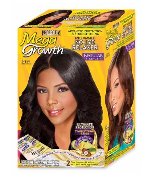 MEGA GROWTH ANTI DAMAGE NO LYE RELAXER - merry poppins beauty