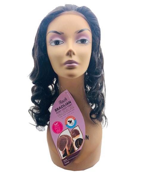 RUSH BRAZILIAN REMY DEEP PART HH JENNIFER XL LACE FRONT WIG - merry poppins beauty