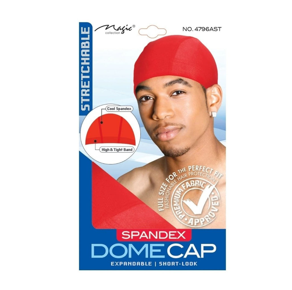 Spandex Dome Cap - merry poppins beauty