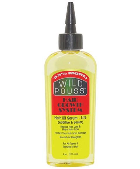 MAMADO WILD POUSS HAIR GROWTH SYSTEM HAIR OIL SERUM LITE 177.4ML - merry poppins beauty