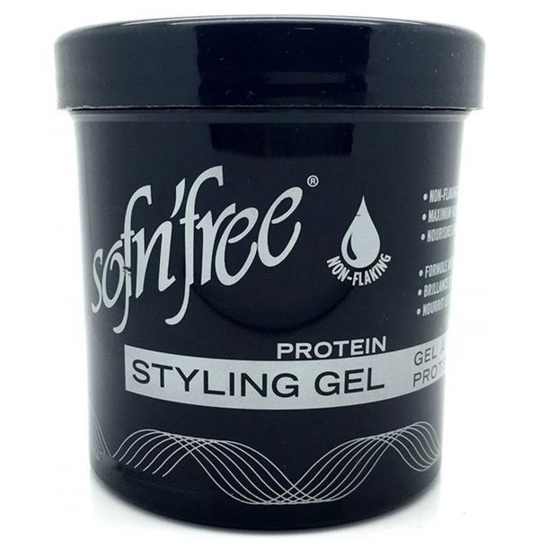 SOFN FREE  Protein Styling Gel Black 425G - merry poppins beauty