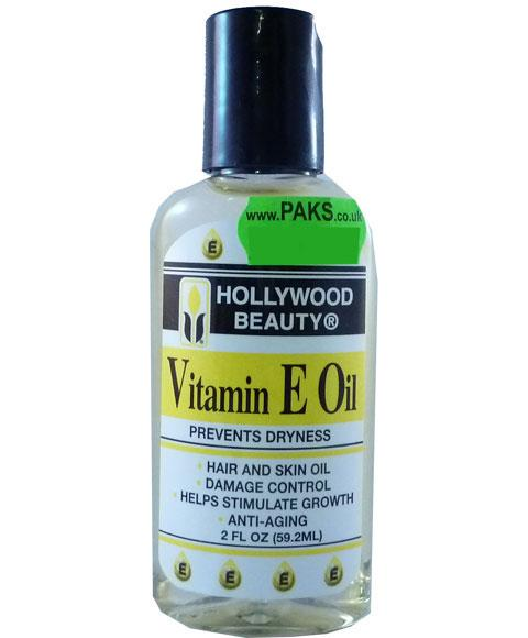 HOLLYWOOD BEAUTY VITAMIN E OIL 2OZ - merry poppins beauty