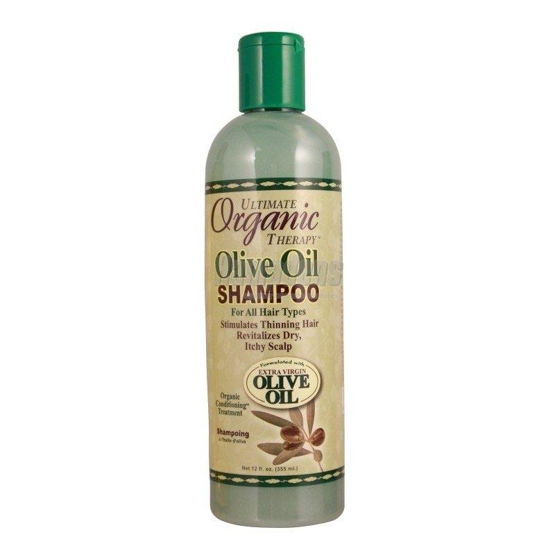 AFRICAS BEST - OLIVE OIL SHAMPOO - 12OZ - merry poppins beauty