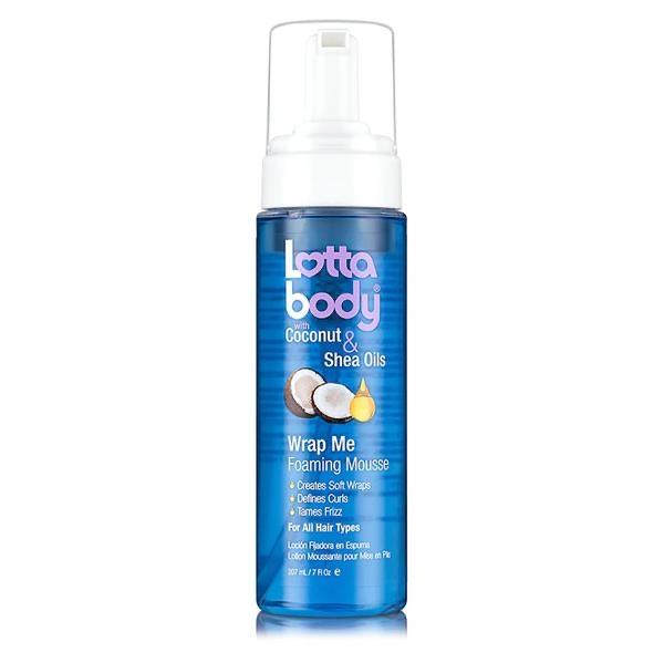 Lotta Body Coconut & Shea Oil Wrap Me Foaming Mousse 207ml - merry poppins beauty