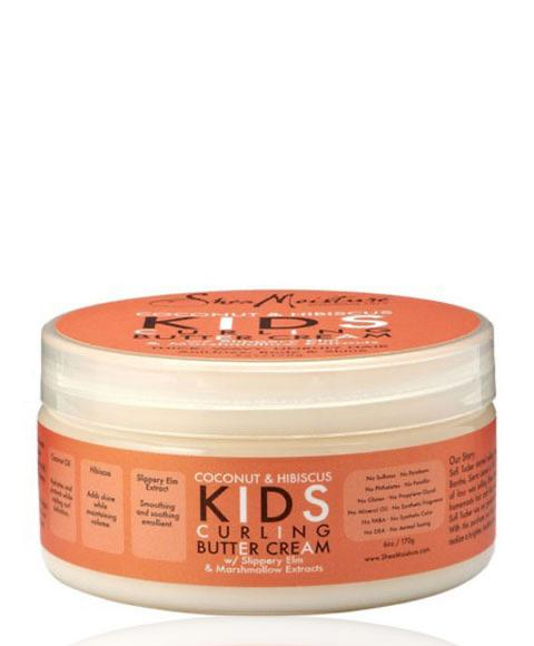 SHEA MOISTURE COCONUT AND HIBISCUS KIDS CURLING BUTTER CREAM 170G - merry poppins beauty