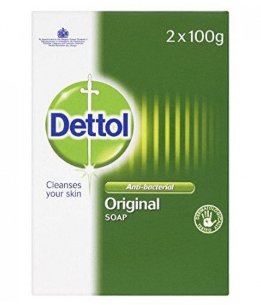 Dettol Anti-Bacterial Original Soap Twin Pack - merry poppins beauty