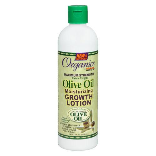 AFRICAS BEST - OLIVE OIL MOISTURIZING GROWTH LOTION - 12OZ - merry poppins beauty