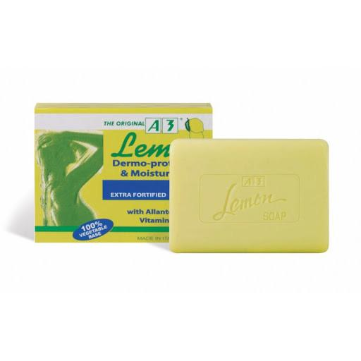A3 lemon dermo protective & moisturizing soap 100g - merry poppins beauty