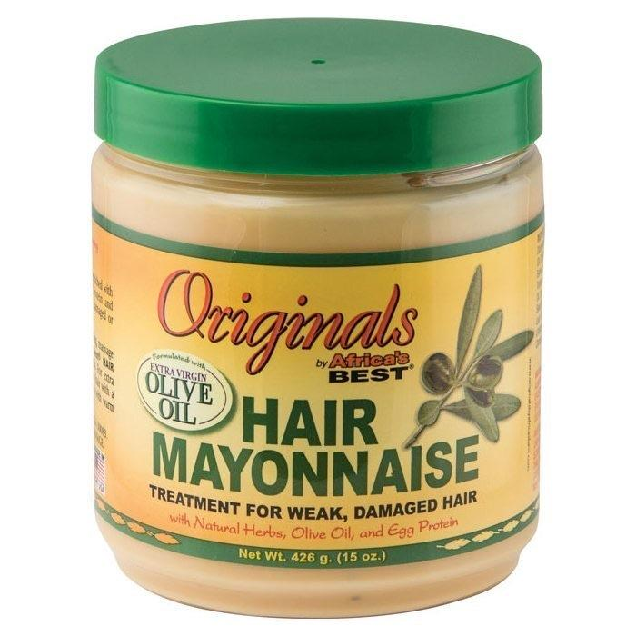 AFRICAS BEST - HAIR MAYONNAISE TREATMENT - 15OZ - merry poppins beauty