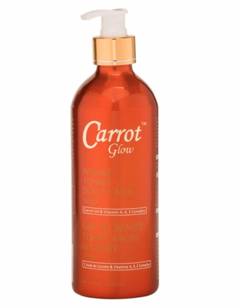 Carrot Glow Intense Toning Beauty Milk 16.8oz - merry poppins beauty