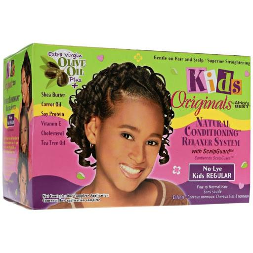 AFRICAS BEST - KIDS NATURAL CONDITIONING RELAXER SYSTEM REGULAR - merry poppins beauty