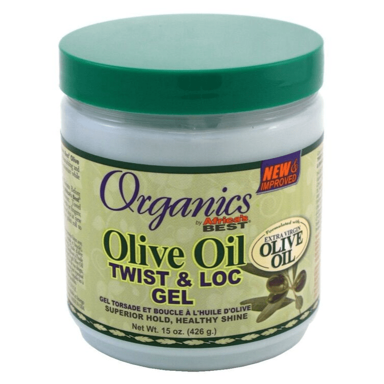 AFRICAS BEST - EXTRA VIRGIN OLIVE OIL TWIST & LOC GEL - 15OZ - merry poppins beauty