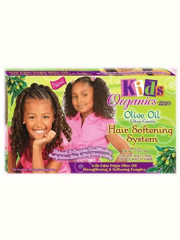 AFRICAS BEST - KIDS ORGANICS HAIR SOFTENING KIT - merry poppins beauty