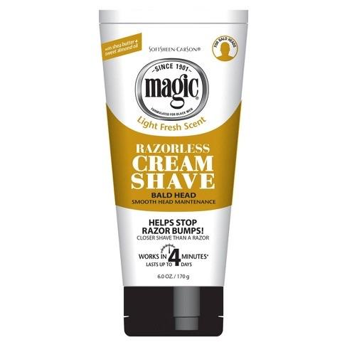 SOFTSHEEN CARSON MAGIC SHAVE CREAM SMOOTH - merry poppins beauty