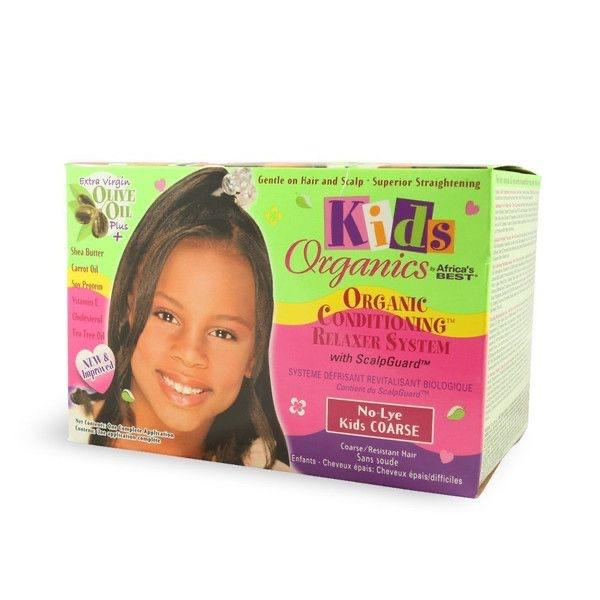 AFRICAS BEST - KIDS NATURAL CONDITIONING RELAXER SYSTEM COARSE - merry poppins beauty