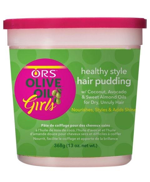 ORS Olive Oil Girls Hair Pudding Jar 13oz - merry poppins beauty