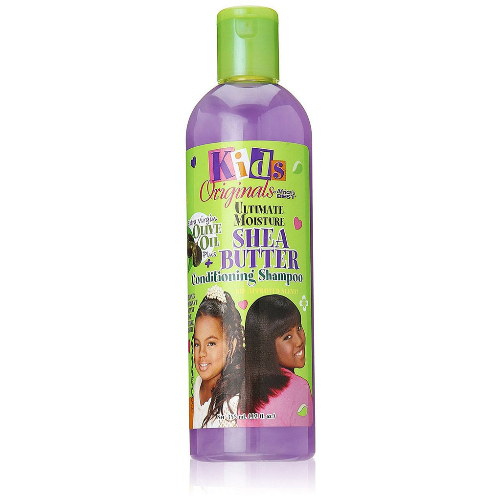 AFRICAS BEST - KIDS SHEA BUTTER CONDITIONING SHAMPOO - 12OZ - merry poppins beauty