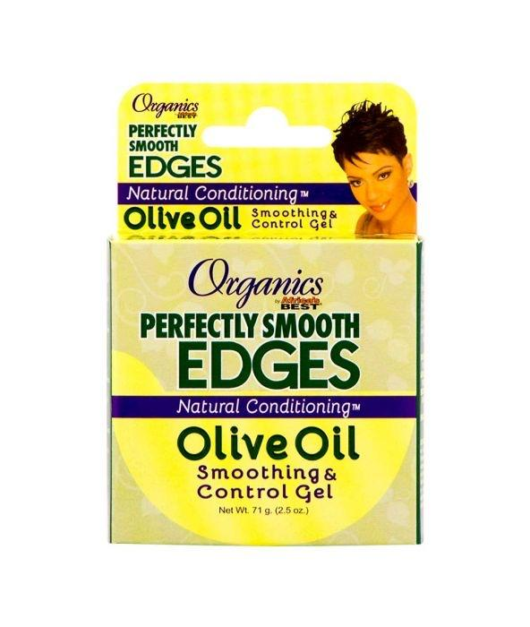 AFRICAS BEST - OLIVE OIL SMOOTHING & CONTROL GEL - 2.5OZ - merry poppins beauty