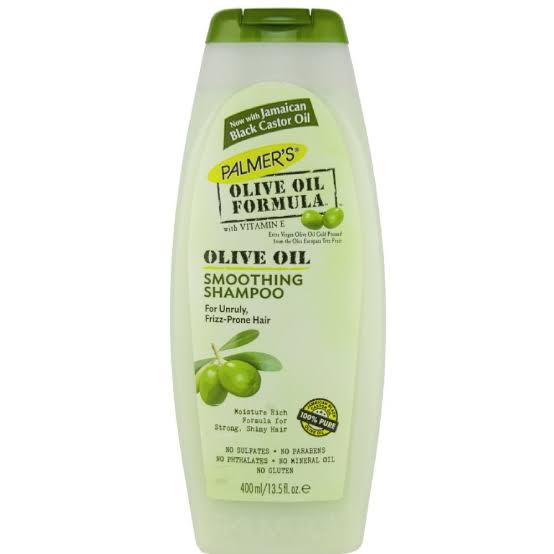 PALMERS - OLIVE OIL FORMULA SMOOTHING SHAMPOO - 13.5OZ - merry poppins beauty