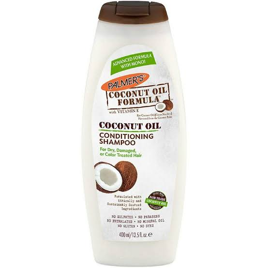 PALMERS - COCONUT OIL FORMULA CONDITIONING SHAMPOO - 13.5OZ - merry poppins beauty