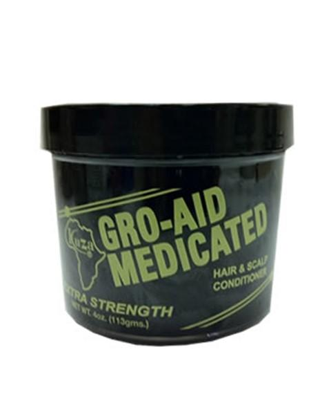 KUZA GRO AID MEDICATED HAIR AND SCALP CONDITIONER 113G - merry poppins beauty