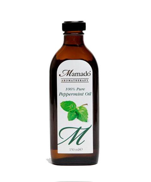 MAMADO AROMATHERAPY 100 PERCENT PURE PEPPERMINT OIL 150ML - merry poppins beauty