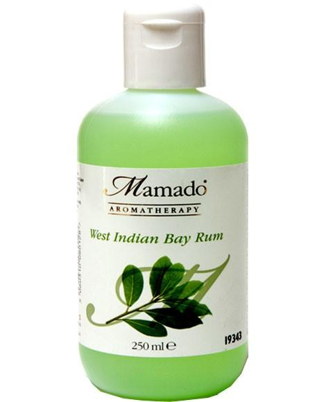 MAMADO AROMATHERAPY WEST INDIAN BAY RUM 250ML - merry poppins beauty