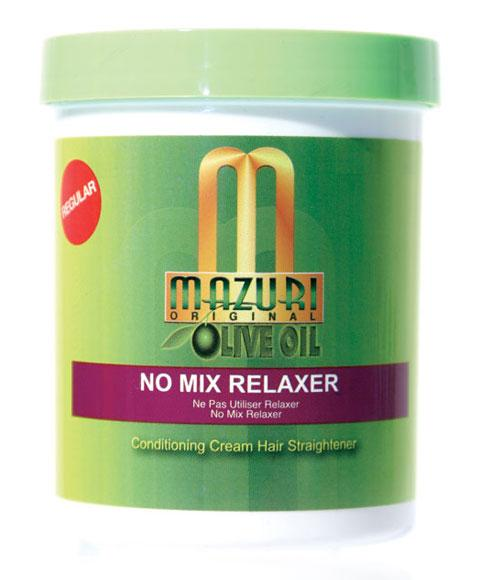 MAZURI OLIVE OIL NO MIX RELAXER 236G - merry poppins beauty