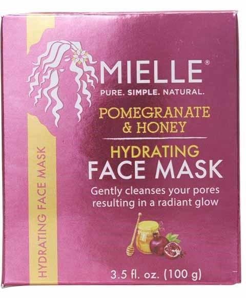 MIELLE POMEGRANATE AND HONEY HYDRATING FACE MASK 100G - merry poppins beauty