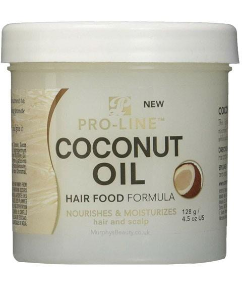 PRO LINE COCONUT OIL HAIR FOOD FORMULA 128G - merry poppins beauty