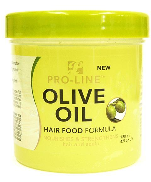 PRO LINE OLIVE OIL HAIR FOOD FORMULA 128G - merry poppins beauty