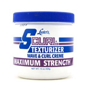 S CURL TEXTURIZER WAVE CURL CREME MAXIMUM STRENGTH 245G - merry poppins beauty