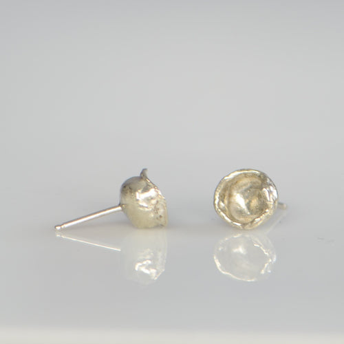 Freeform Droplet Studs - Amalia Moon Jewelry