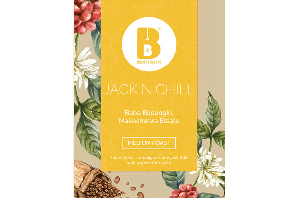 Jack & Chill | 100% Arabica | Pack of 10 Drip Coffee