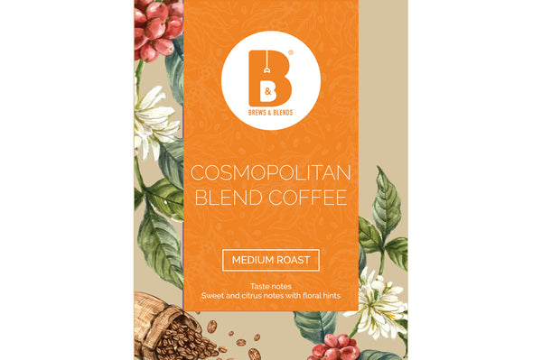 Cosmopolitan Blend | 100% Arabica | Pack of 10 Drip Coffee