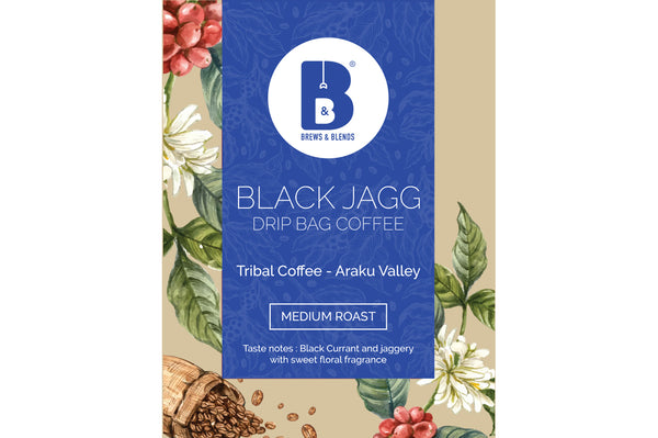 Araku Valley Medium roasted coffee Arabica drip 10 pack