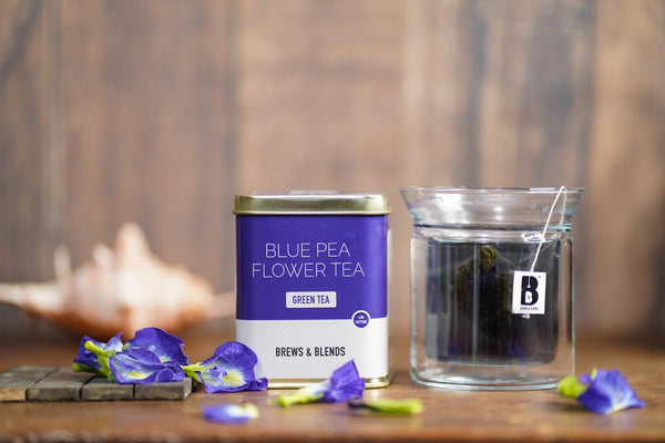 Blue Pea Flower Green Tea