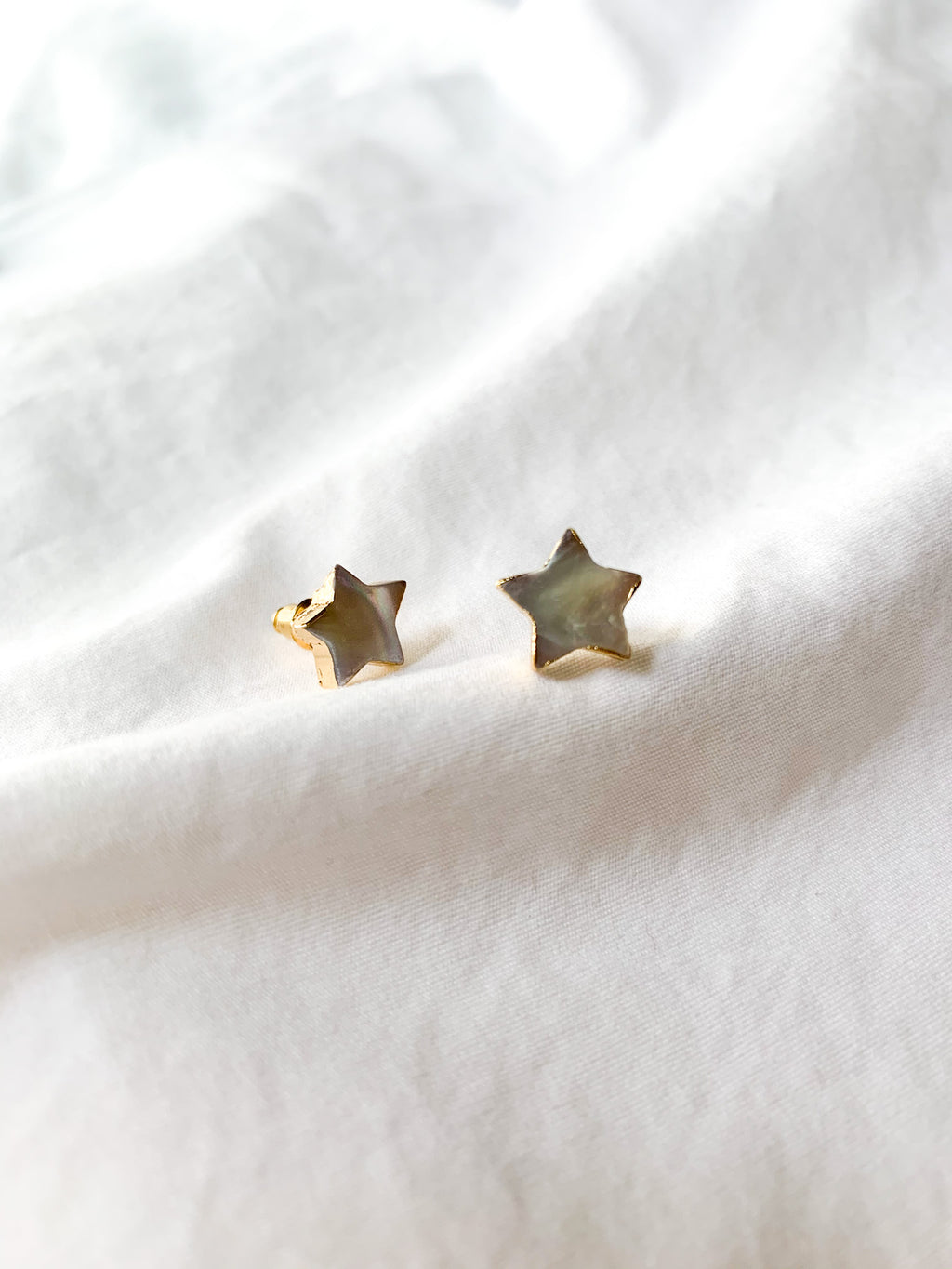 Cleo Small Star Stud Earrings