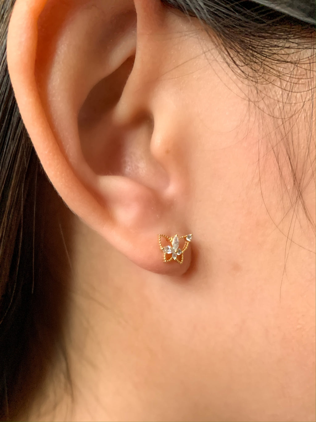 Emilia Mini Butterfly Earrings