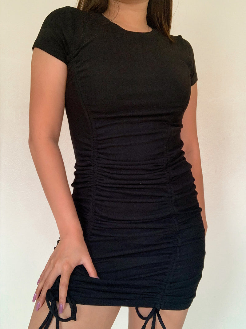 Kamila Center Ruched Dress