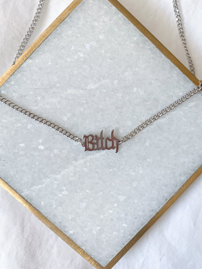 Bxtch Pendant Necklace