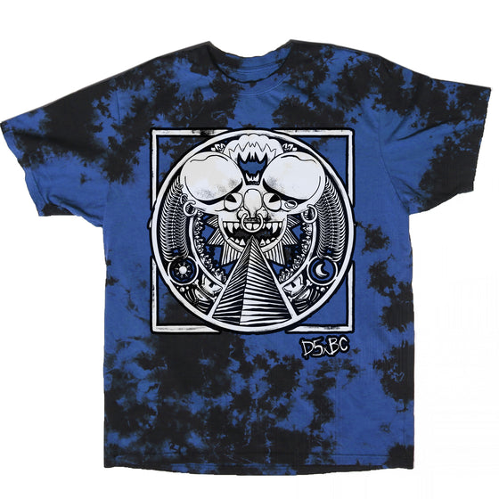 deadmau5 x Blackcraft Cult - Ancient Mau5 - Blue lightning Dye Tee