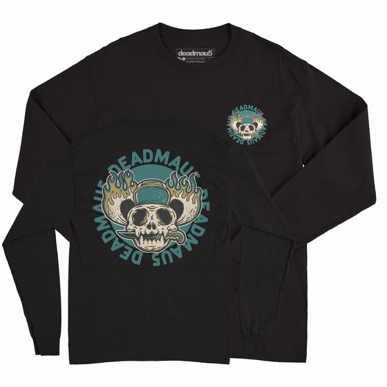 deadmau5 - Skull - Unisex Long Sleeve