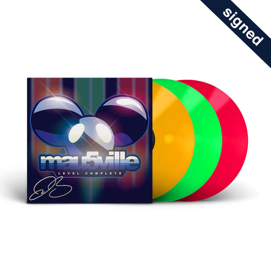 SIGNED - deadmau5 - Mau5ville Complete Series Vinyl Box Set